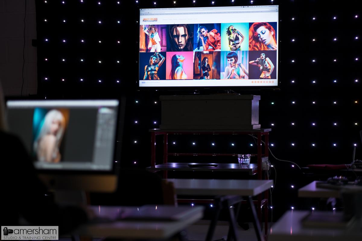 Jake Hicks Workshop at Amersham Studios